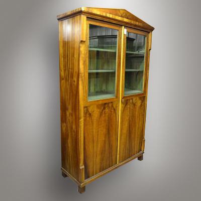 Biedermeier bookcase / Antique shop - Nový Antik Bazar