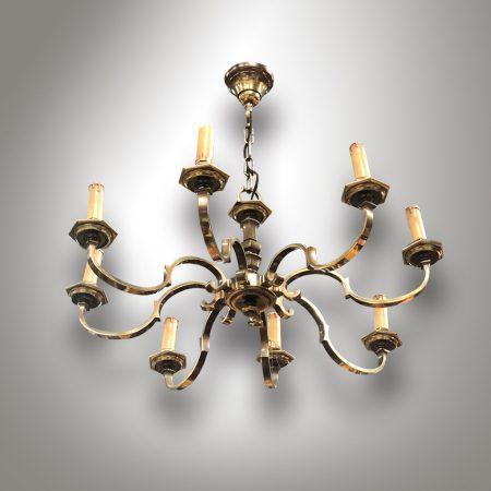 Vintage / Antique  brass chandelier