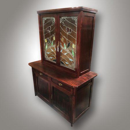 Art nouveau bookcase / library / Antique shop - Nový Antik Bazar
