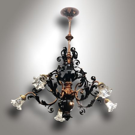 Art Nouveau chandelier /
