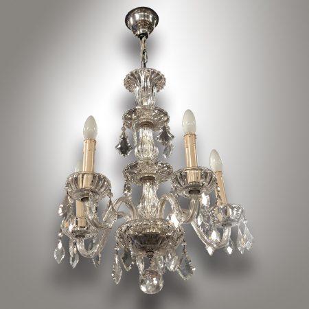 Crystal chandelier - Nový Antik Bazar / Vintage - Antique furniture and lamps