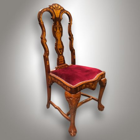 Chair is baroque style.